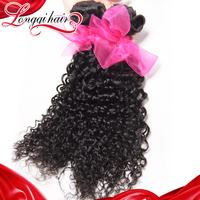 3 Bundles Lot Peruvian Human Hair Weft Jerry Curly, Virgin Peruvian Curly Hair Lot Free Shipping Natural Color LQPJC005