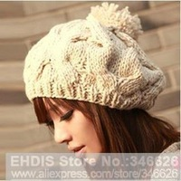 2013 Winter Hot Korean Women bud cap warm hat pumpkin hat twistWomen bud cap