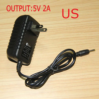 Cheap Promotion US Standard 2.5mm 5V 2A tablet Wall Charger Power Adapter for Android tab US25