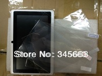 5pcs Q88 Tablet Clear Film  2014  protective film for tablet 7inch,Q88 screen protector +Tracking No.Free Shipping