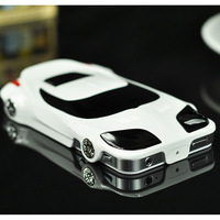 3D Luxury PC Hard Case for iPhone 5s Sport Racing Car Protective Cover for iPhone 5 5s for iPhone 4 4s, Free Shipping