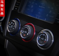 Subaru xv 09 - 14 forester air conditioning knob decoration ring air conditioning refires decoration new arrival
