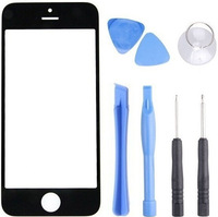 Top Quality Black Front Glass Screen For Apple iPhone 4 4S 4G Replacement Outer Lens For Lcd Screen Digitizer With Opening Tools