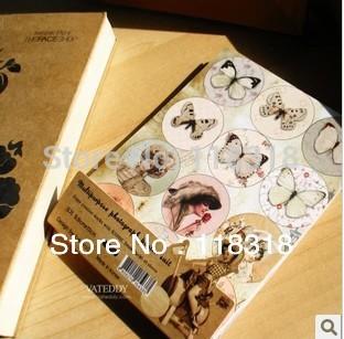 Off $5 $25 por,( 1 lot=15 pcs) diy papel scrapbooking muñeca vintage diario las niñas sello pegatinas cuaderno decoración etiqueta