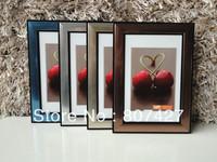 PVC Frame Multi Color For Picture Frame 4 x 6 Inch  Silver / Sky Blue / Brown / light Silver Color Frames