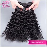 Ali POP Hair malaysian deep wave 3 pcs/lot  free shipping 5A malaysian virgin hair cheap human hair extension can be dyed