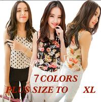 New Fashion Women Girl camis Casual Chiffon Vest Top tee Tank Sleeveless T Shirt Blouse
