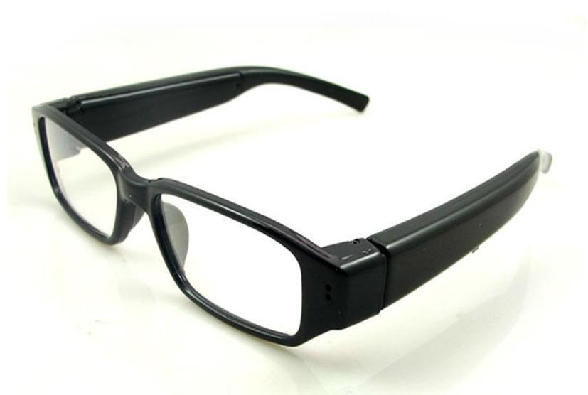 Yeni 2 014 hd 720p video kamera gözlük cam mini dv dvr kamera 1280