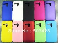 For Moto G Case,Rubber Hard Back Case For Motorola Moto G XT1028