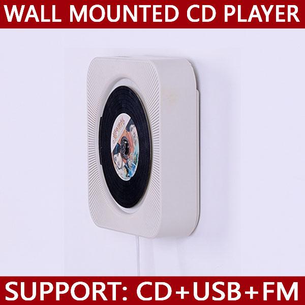in parete lettore cd