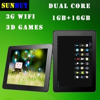 "New 2013 Hotsale Tablet PC computer network 9.7"" inch Android 4.1 RK3168 Dual Core HD Screen 1GB 8GB 3D 3G WIFI EBook 6000mah"