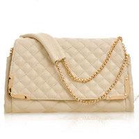 2013 vintage day cosmetic bags clutch scrub leather chain bag shoulder purse New fashion women's handbag diamond shoulder bags