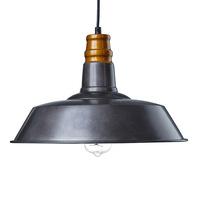 Vintage American Pendant Light Industrial Edison Lamp Plated Iron Lampshade Art Deco Cord Loft Coffee Bar Restaurant Lights