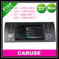 "Android audio 6.2"" Car DVD For BMW M5 E39 E53 X5 with GPS Navigation USB Bluetooth Radio IPod Touch Screen Canbus wifi gps map"