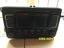 VW Volkswagen Original Fabrik Produkt Auto Radio RCN210 CD MP3 Player Golf 5 6 Jetta MK5 MK6(China (Mainland))
