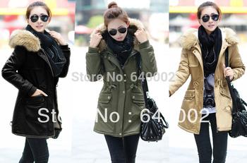 winter jacket Женщины sobretudo feМиниno overcoat Повседневный manteau femme Мех ...