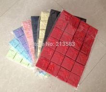 Wholesale 48pcs lot Fashion Jewelry Box Multi colors Rings Box Earrings Pendant Box 4 4 3
