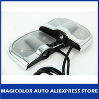 One Pair No Drill Car Door Led Logo Light Auto Ghost Shadow Light Car Welcome Light