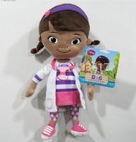 Free shipping Original Doc McStuffins plush toys Dottie doll 32cm cute stuffed soft kids toys dolls for children girls