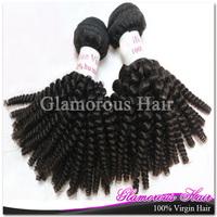 3 Bundles a Lot DHL Free Shipping 6A Virgin Weaving 100% Human Hair Spiral Curly Peruvian Hair