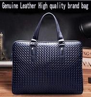 Hot sale!! New Genuine Leather Men Bag Briefcase Handbag Men Shoulder Bag Laptop Bag,free shipping SFMBAG05