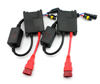 High quality  2pcs/lot black  35W  HID ballast 35W 12v  hid  SLIM Car Lighting ballast hid XENON ballast