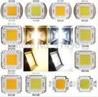 Free ship,5pct/lot,10W 30w 50w 60w blue  red yellow white warm white RGB green high power Led chip light lamp beads module. NEW