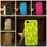 Luxury Fashion Hybrid Michael korss MKS 3 in 1 plastic Hard Back Case Cover For iphone 4 4s 4g 5 5s 5g With Retail Package