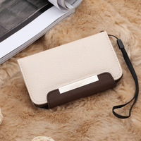 Special for ip4 mobile phone shell in the grab wallet for ap 4 s group embossed leather case