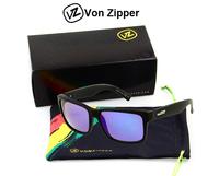 New Von Zipper Sunglasses Men Fashion Women Glasses Vonzipper oculos de sol Good Quality 1 pcs with Box, bag, cloth