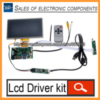 Diy Monitor for Raspberry Pi Lcd Driver 7 inch Touch Screen ( HDMI VGA 2AV )