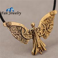 The Mortal Instruments City of Bones The Infernal Devices Tessa's Clockwork Angel Pendant necklace