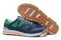 Guaranteed 100% Quality of New Official 2014 Salomon Outban low leisure Athletic Men Trekking Running Shoes Size:7-11