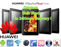 "huawei mediapad 7 S7-301U dual core tablet pc Phone Call 7 ""IPS 1280x800 Snapdragon 8250 1.2GHz 1GB RAM 8GB 5.0MP Camera WCDMA"
