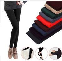 Women leggings Casual leggins Autumn Winter Faux Velvet Warm Leggings Knitted Slim Legging Fitness Free Shipping W226