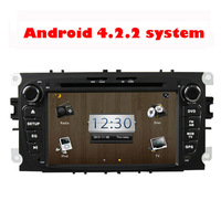 BY Ems DHL High quality  Touch Screen Android 4.2 Car DVD For Ford Mondeo Tourneo Connect  Transit Connect  S-max
