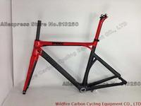 2013 Road Bike Red-Black BMC IMPEC full carbon fiber frame.Customed color is available