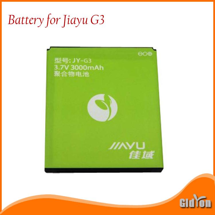 2750 3000mAh Original Battery for JIAYU G3 G3S G3T Smart Phone(China (Mainland))