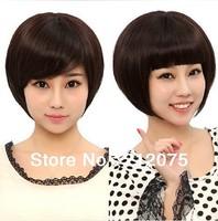 Bob Hair style Top Selling wig- Medium brown color* Fashion women wigs*