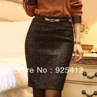 new 2014 winter woman saias autumn -summer skirt Korean Slim saia hip skirt OL female fashion short skirts womens pencil skirt