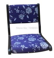 (2pcs/ lot) Japanese living room furniture tatami chair black  finish foldable legs wooden kotatsu online tatami zaisu chair