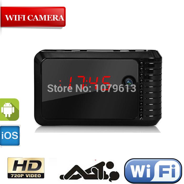 Aliexpress.com : Buy full hd ip camera SD card video mini clock ...