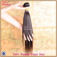 "brazilian virgin hair extension straight 8""-30"" 1pc realove hair wholesale human hair weave 5a unprocessed virgin brazilian hair"