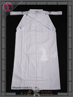 Top Quality White Kendo hakama 10000# 100%cotton-Free Shipping
