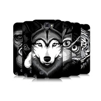 Aztec Tribal Catcher Dream Catcher 3D Painting Tiger Plastic Hard Back Case for Samsung Galaxy Note 2 N7100 Mobile Phone Cases