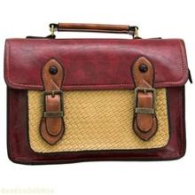 leather satchel bag promotion