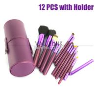12PCS Makeup Brush Set Cosmetic Brushes Tool Kit  with Makeup brushes bag