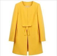 100% Real Picture Autumn Winter Woolen Outerwear Overcoat Women's Plus Size Sweater Hoodies Coat Jacket Lady Female Long Sleeve