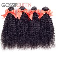 "6A mongolian kinky curly virgin hair 4 pcs lot free shipping 8""-30"" natural black hair mongolian curly hair human hair extension"
