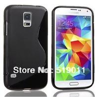 For Samsung Galaxy S5 Soft Case,Anti-skid S Line Soft TPU Gel Skin Case For Samsung Galaxy S5 i9600